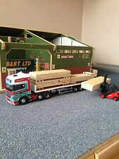 1:50 Scale camion contreplaqué charge idéal code 3 diorama