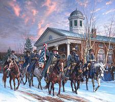 """McNeills Rangers"" by John Paul Strain Military L/E signed Civil War Print"
