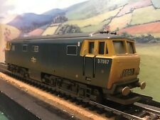 Hornby (China) Hymek Diesel Hydraulic B.R Blue D7067. Boxed. Factory Weathered.