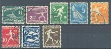 NL 212 - 219 gebruikt Olympiade Eur 60