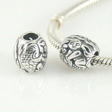 Mermaid Charm Bead 925 Sterling Silver