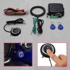12V Car Keyless Entry Engine Push Start Button Lock Ignition Starter Immobilizer