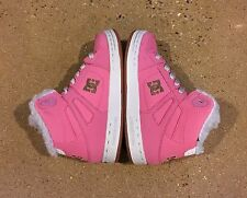 DC Rebound WNT Kids Size 12 Youth Girl's Pink BMX Skate Shoes Sneakers