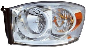FITS 2007-2008 DODGE RAM 1500 DRIVER LEFT FRONT HEADLIGHT LAMP ASSEMBLY