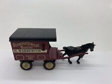 Lledo Warburtons Delivery Van Trailer With Horse Vintage Vgc