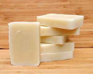Luxury natural handmade soap. Honey and beeswax. Gentle on sensitive skin.
