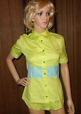 VERSACE JEANS COUTURE blouse Button Down Shirt TOP SZ XS NEW