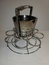 Mid Century Barware. Bucket And Caddy. Retro.
