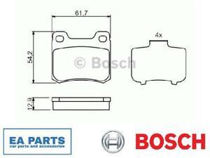 Brake Pad Set, disc brake for MERCEDES-BENZ BOSCH 0 986 466 874