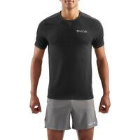 Skins Mens SKINS Activewear Sveg Training Gym Fitness Short Sleeve T Shirt Tee
