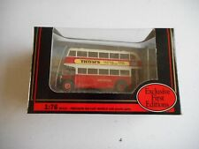 EFE 16007 Leyland PD2 Lowbridge North Western Rt 77 Desr Stockport 1:76 plus box