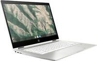 "HP Chromebook x360 14""(32GB,Intel Celeron,1.1 GHz, 4GB) Laptop - White - 7PD76UA"