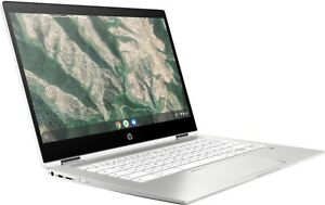 "HP - 2-in-1 14"" Touch-Screen Chromebook - Intel Celeron - 4GB Memory -"