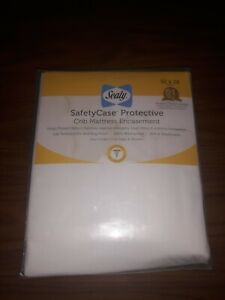 Sealy SafetyCase Protective Crib & Toddler Zippered Mattress Encasement 52x28