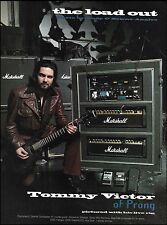 Prong Tommy Victor Charvel Guitar & Marshall Amps stage gear 8 x 11 pin up photo