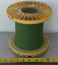 GUDEBROD BUTTWIND CUSTOM FISHING ROD WINDING WRAP GREEN ENTIRE SPOOL #7
