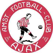 "Ajax FC Amsterdam Soccer Football Car Bumper Sticker Decal 5"" x 5"""