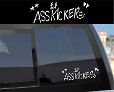 Walking Dead - Lil Asskicker Sticker Decal Rick Baby Name Daryl