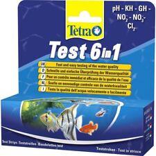 Tetra 6 En 1 Ph Kh Gh, No2 No3 C12 tropicales de acuario de agua Multi Kit de prueba
