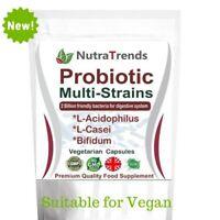 Probiotics Complex, Acidophilus + Bifidus+ L-Casi, Vegan & non dairy 60 Capsules