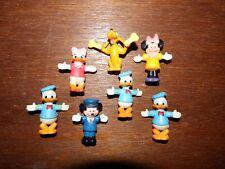 "Disney Mickey Mouse Vintage figure toy playset bundle joblot Minnie Dais 1.75"" A"