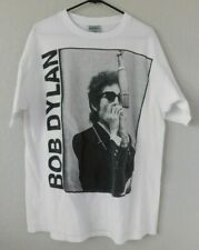 Bob Dylan 1991 Vintage The Brockum Group White Men's T-Shirt - One Size Fits All