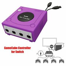4 Ports Adapter Converter for GameCube Controller to Switch PC + Turbo Fire