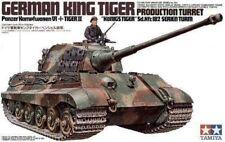 1/35 Tamiya German KING TIGER PRODUCTION TURRET Sd.Kfz.182 SERIEN TURM #35164