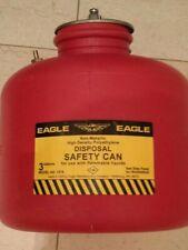 Eagle Brand 3 Gallon Safety Disposal Can