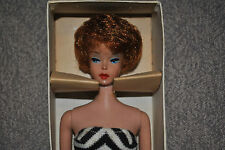 #5 Barbie Bubblecut NRFB vintage titian with RARE wristag