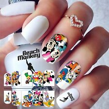 Nail Art Nail Wraps Nail Decals Water Transfers DISNEY's MICKEY MOUSE & FRIENDS