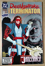 DEATHSTROKE THE TERMINATOR #23 - 1ST PRINT DC COMICS (1993)