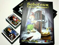 Saboteur 2 :extension  Les Mineurs Contre Attaquent giga mic card game family