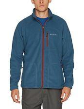 Columbia Fast Trek II Full Zip Fleece Polaire Homme Blue Heron/ Rusty FR ...