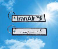 Iran Air Airbus A330 keychain keyring key tag
