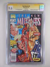 NEW MUTANTS #98 -1ST APPEARANCE OF DEADPOOL- CGC 9.6 SS - SIGNED BY ROB LIEFELD