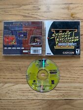 Full Manual -- Street Fighter III Disc Insert Case Double Impact Reproduction for Sega Dreamcast