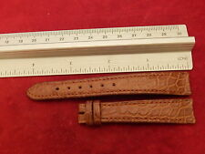 EBEL 15MM ALLIGATOR 3012 STRAP BAND BRACELET LADIES 1911 SPORT CLASSIC DATE
