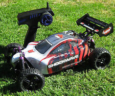 Redcat Racing New Red SHOCKWAVE GREAT Starter RC Nitro NEW R/C 4WD Buggy!