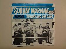 "SPANKY & OUR GANG: Sunday Mornin' 3:02-Echoes-Holland 7"" 68 Mercury Records PSL"