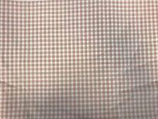 BIGGIE BEST 'MINI CHECK' 100% Cotton Pre-Shrunk Checked Fabric, 3.3m x 140cm