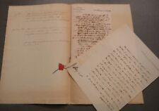 Jacquinot de Pampelune.2 lettres à M. Baumes Propagation des Connaissances.1823.