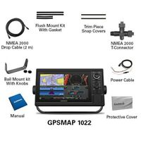 "Garmin GPSMAP 1022 10"" Chartplotter with Worldwide Basemap 010-01740-00"
