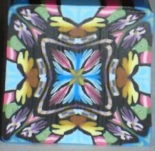 SALE - NEW - ALL CANES SHIP FOR $4 -  STUPENDOUS KALEIDOSCOPE CANE by SueC #S530