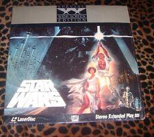 Star Wars A New Hope Special Widescreen Edition FOX Laserdisc LD - shrink