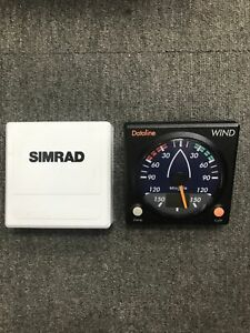 Simrad Wind Instrument Display