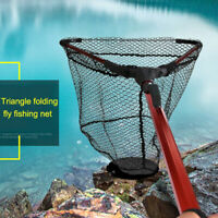 Fishing Landing Net Aluminum Alloy Telescopic Foldable Folding Retractable AU