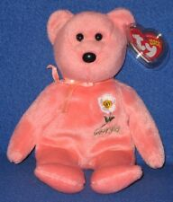 TY GEORGIA CHEROKEE ROSE STATE FLOWER BEANIE BABY - MINT with NEAR PERFECT TAG