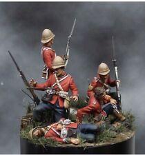 1:32 British Soldiers (5 Figures) Model Kit Unassembled Unpainted