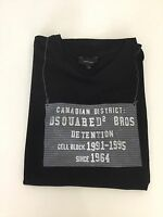 Dsquared2 Ds2 Boys T Shirt, Size Large Boys, Black, Vgc